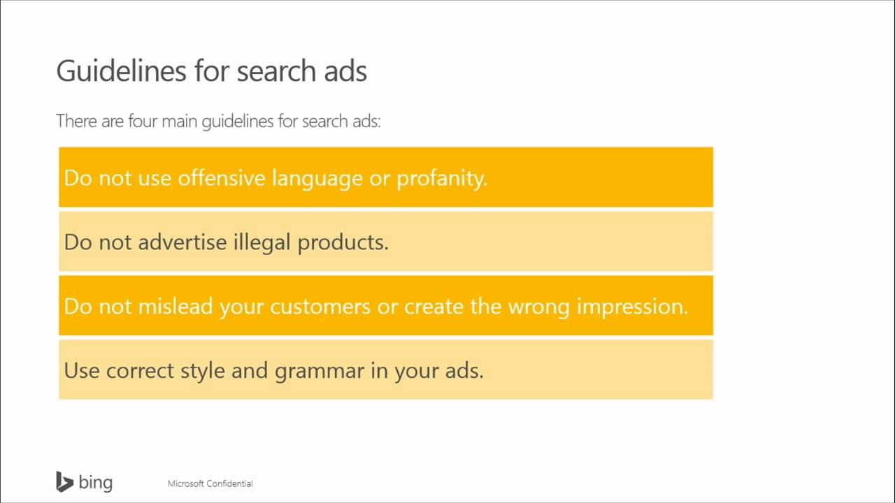 Getting Started With Bing Ads Pt2 Getting Started With Bing Ads
