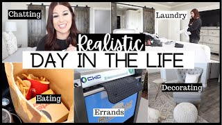 REALISTIC DAY IN THE LIFE | NEW FURNITURE! | ASHLEYandCHASE