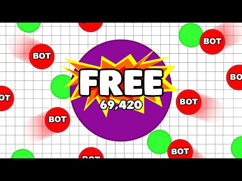 Agar.io ★ How to get FREE bots/minions!!!!! ★