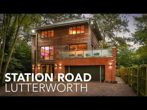 Station Yard, Lutterworth - Property Video Tour - Grand Designs Style House