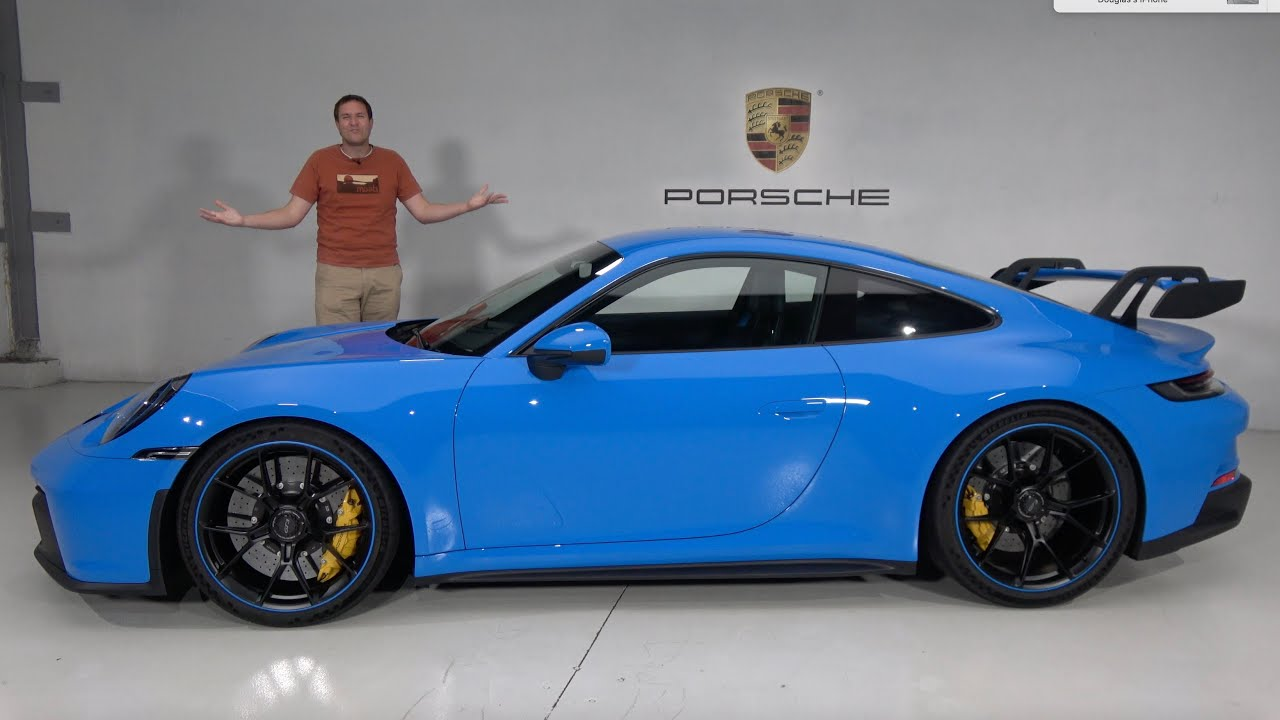 Download The 2022 Porsche 911 GT3 (992) Is the New Track-Focused 911