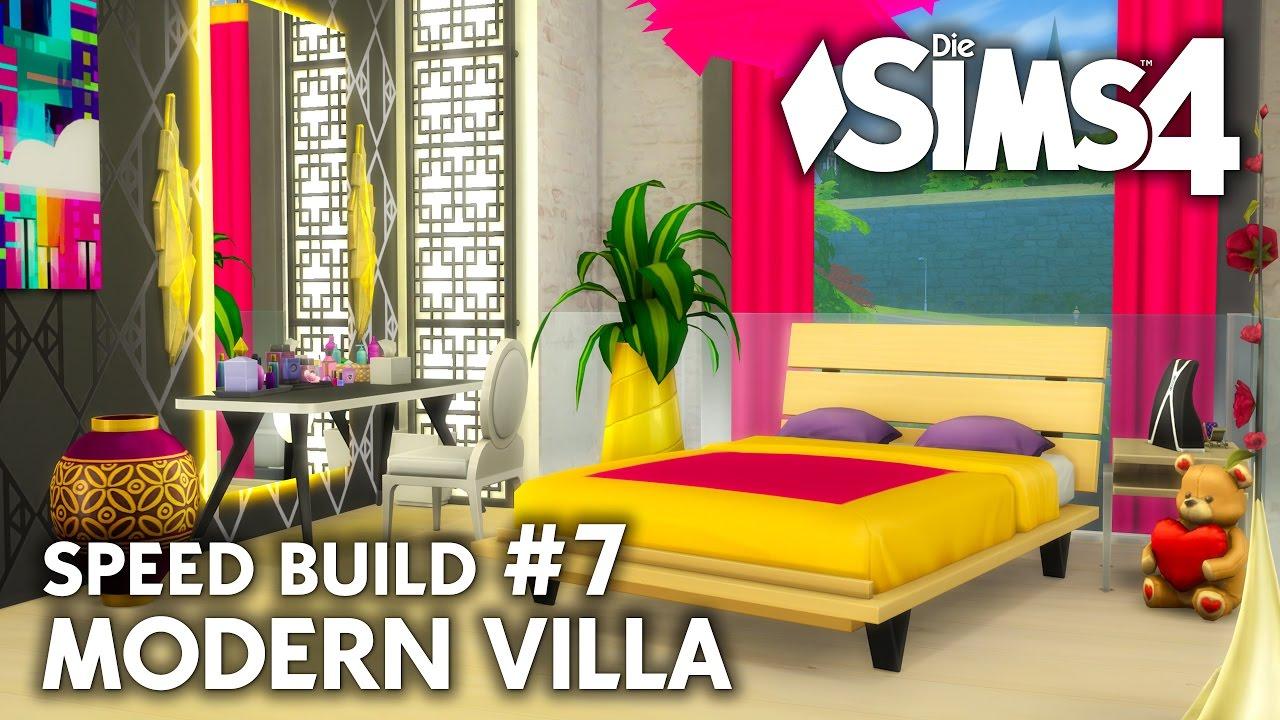 Trans Teen Schlafzimmer | Die Sims 4 Haus bauen | Modern Villa #7 ...