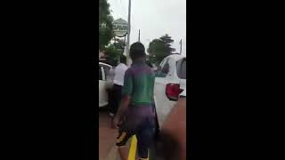 FIGHT IN FRONT OF JAVA LOUNGE