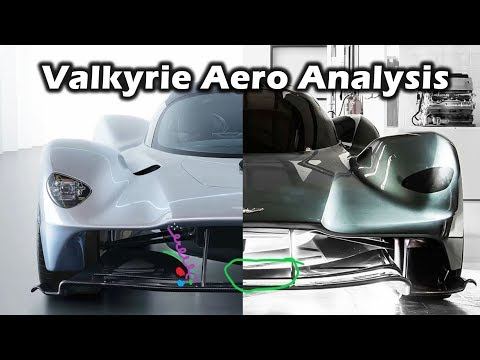 Aston Martin Valkyrie – Aero Update Analysis and Comparison