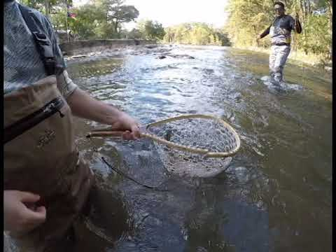 Flyfishing Beautiful Texas Hill Country