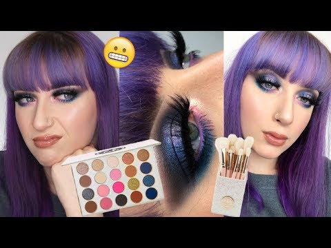 Testing NEW BH Cosmetics Fairy Lights Holiday/Christmas Collection 2019 | Alice King