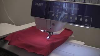 Пошив детского платья часть 2 Вышивка