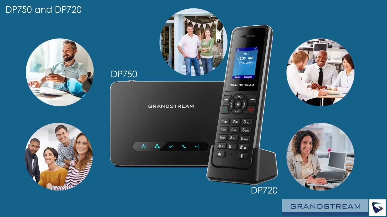 Grandstream DP750 and DP720 DECT IP Phone Solution