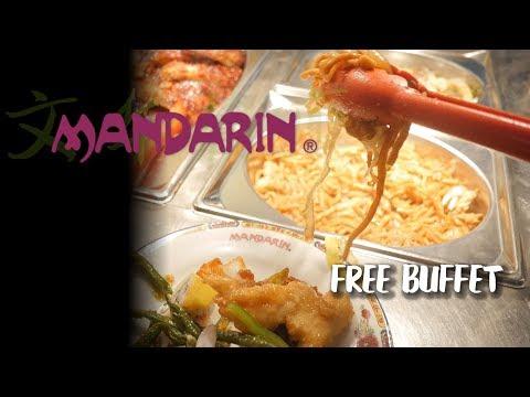 Mandarin Canada Free Buffet! Canadian Treats And Inspired Food!