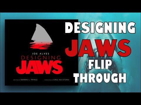 JOE ALVES DESIGNING JAWS FLIP THROUGH