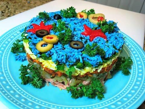 Салат из морской капусты (99 рецептов с фото) - рецепты с