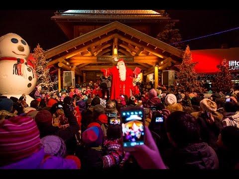 Grand Opening of The Christmas Season 2015 in Santa Claus Village, Rovaniemi