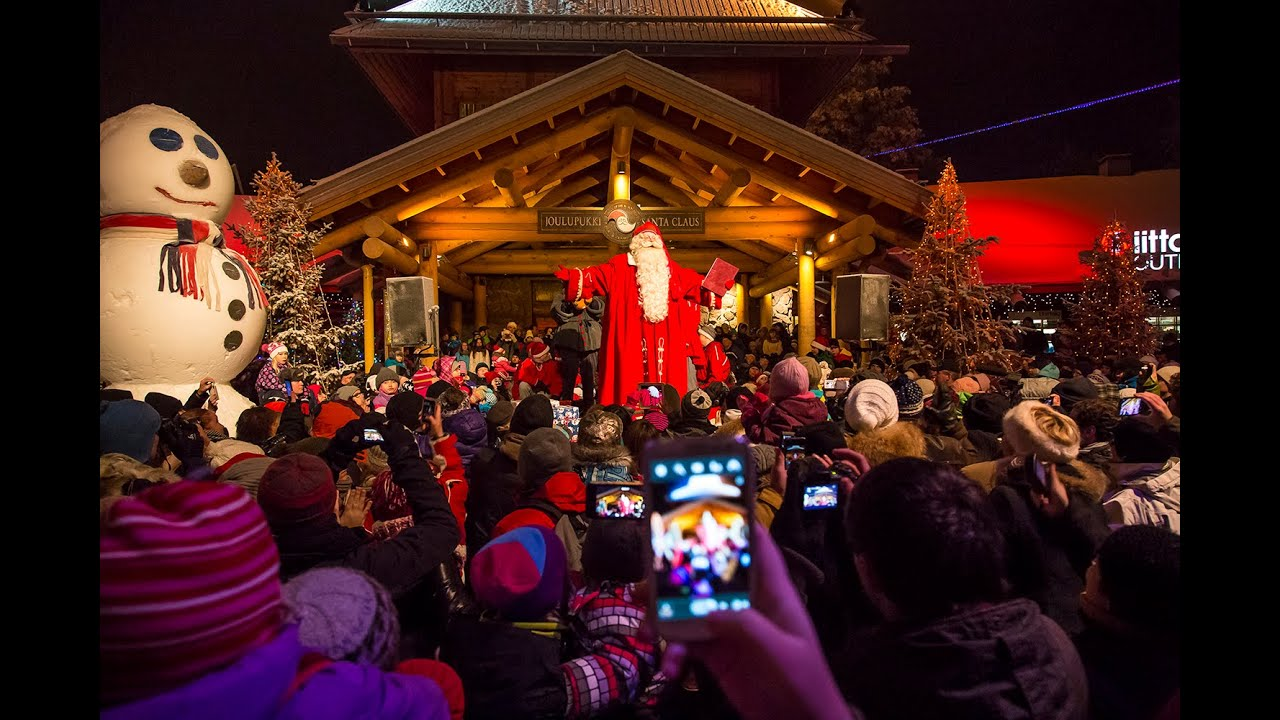Grand Opening Of The Christmas Season 2015 In Santa Claus Village Rovaniemi