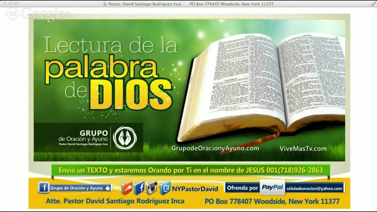 Exodo Capitulo 16, 17 y 18 / Marcos Capitulo 16 | Lectura de la ...