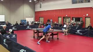 Table Tennis French League Pro A - ISTRES Vs HENNEBONT (2018/2019)