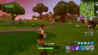Fortnite solos battle royal trying to get to level 40 level now 32 new bush update hype