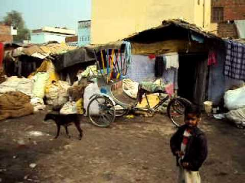 Slums in Varanasi and their lifestyle