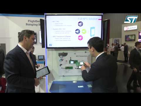 From EW 2015 Show - NFC Transceiver IC Demo