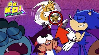 Gambar cover EVERY Reference In Let's Meet Sonic! OK K.O. Let's Be Heroes Easter Eggs Breakdown!