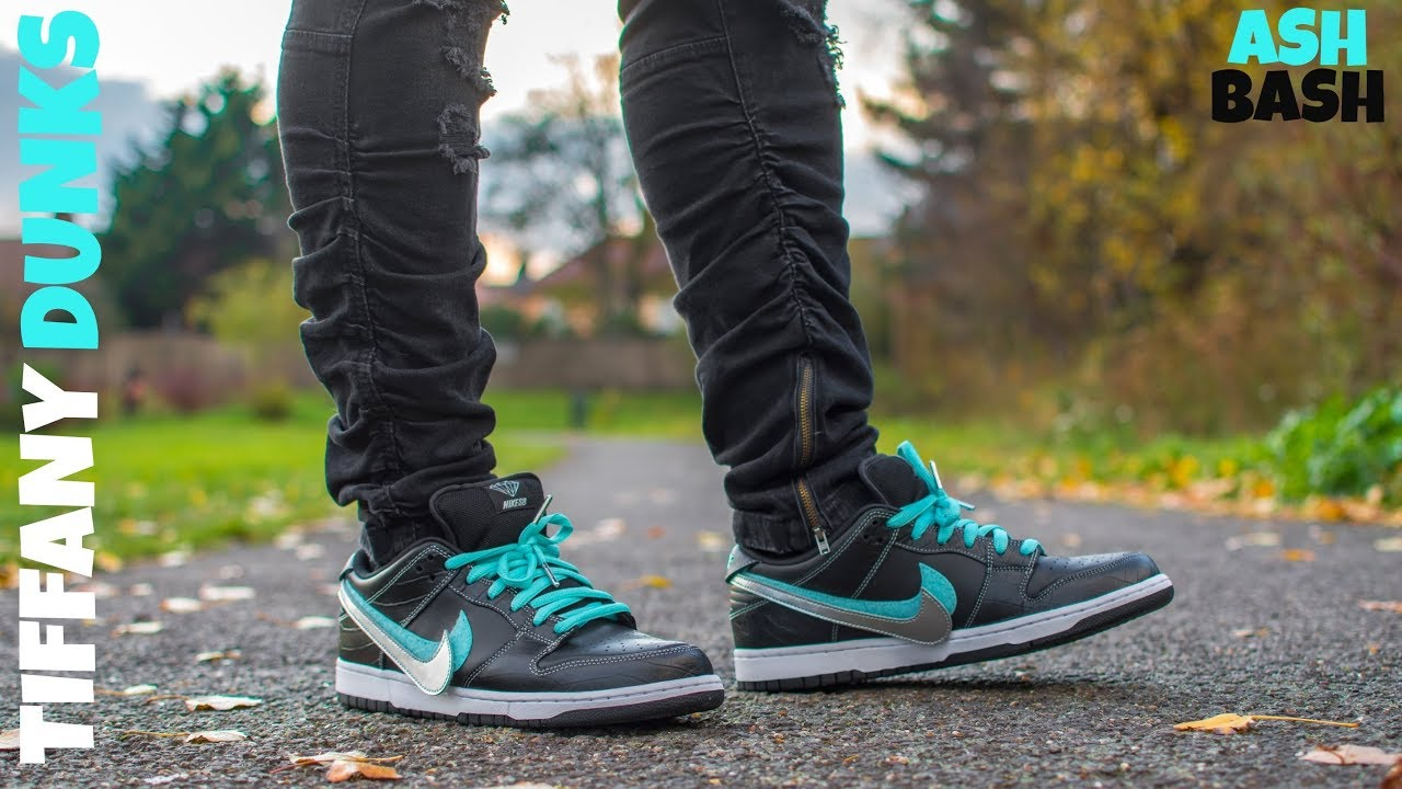 competitive price 97773 a4002 Review + On Foot   Diamond Supply Co. x Nike SB Dunk Low QS