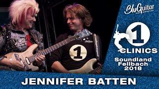 Jennifer Batten and Thomas Blug - Clinic: AMP1, BluBox, Playing, Tone and more...