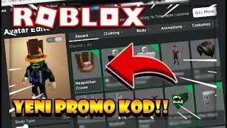 🎉 ROBLOX YENTM EFSANE PROMO KOD GELD !! (ROBUXLU E-YA) 😱 Nuevos Códigos promocionales 2019 Roblox Torksée