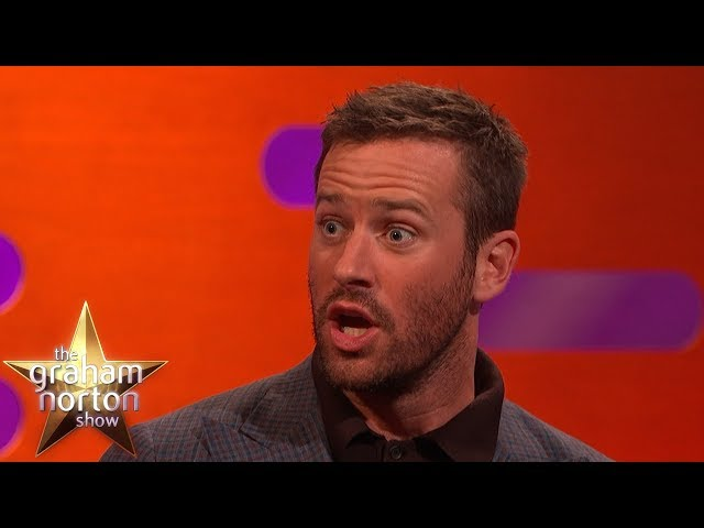 Armie Hammer Gave His Wife NO PRESENTS For Christmas?! | The Graham Norton Show