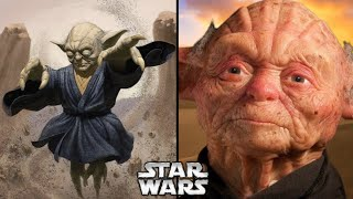 The OLDEST Member of Yoda's Species and His INSANE Power