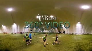 [VR 360° video] Football play test! - VRtake.com