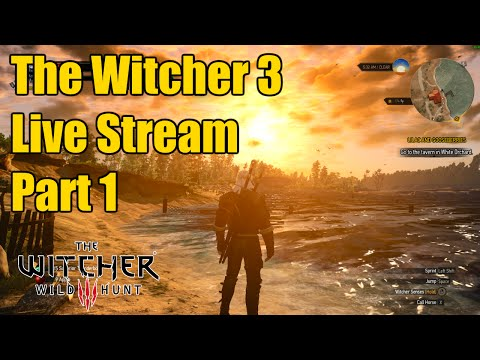 The Witcher 3 | New Game Plus | Part 1 | Live Stream