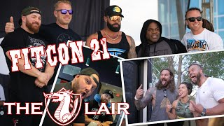 Behind The Scenes At Fitcon Utah W/ Flex Lewis - The Lair Ep 5