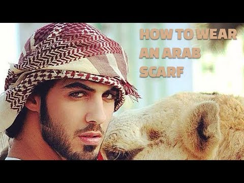 How To Wear An Arab Scarf – 6 Steps – {HD}