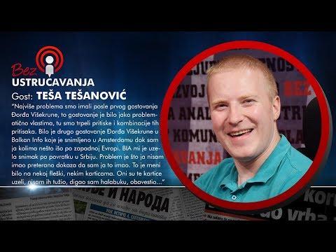 BEZ USTRUČAVANJA - Teša Tešanović: Svaka nova vlast štiti lopove iz prethodne vlasti!