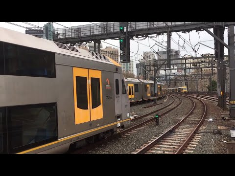 Trains at Central