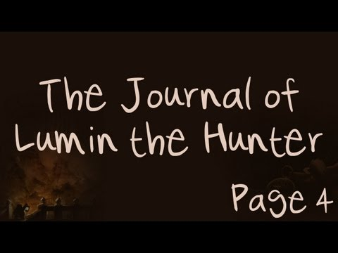 The Journal of Lumin the Hunter - Page 4 - An Old Friend (World of WarCraft)