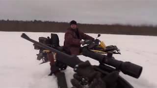 Коллективная охота на лося загоном 2017