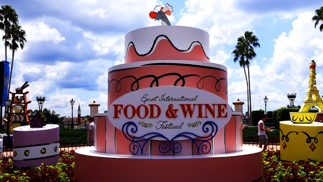 First Look At Epcot International Food Wine Festival 2019