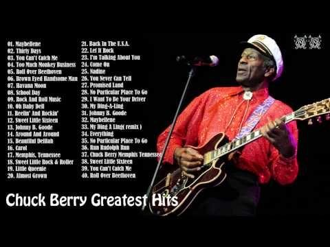 Chuck Berry's 40 Biggest Songs Chuck Berry Greatest Hits [Full Album]