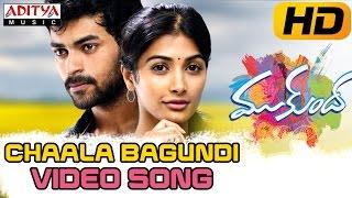 Chaala Bagundi Full Video Song || Mukunda Video Songs || Varun Tej, Pooja Hegde