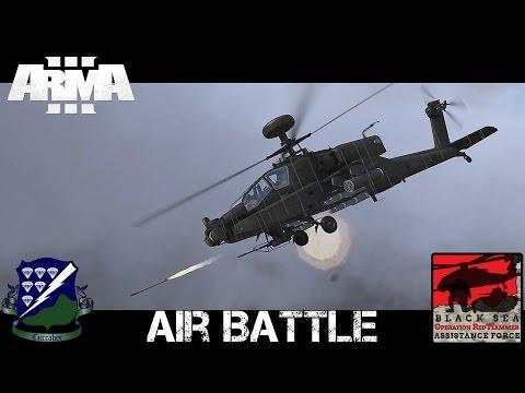 Air Battle - ArmA 3 - AH-64 Longbow vs MI-24 Hind