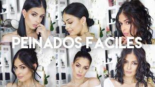 Peinados Faciles para Cabello corto y Mediano/collab fashion H / Jeka Channel