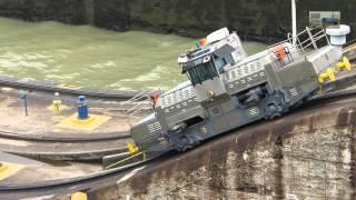 Panama Canal Locomotive Electrics mulas Mitsubishi 290HP