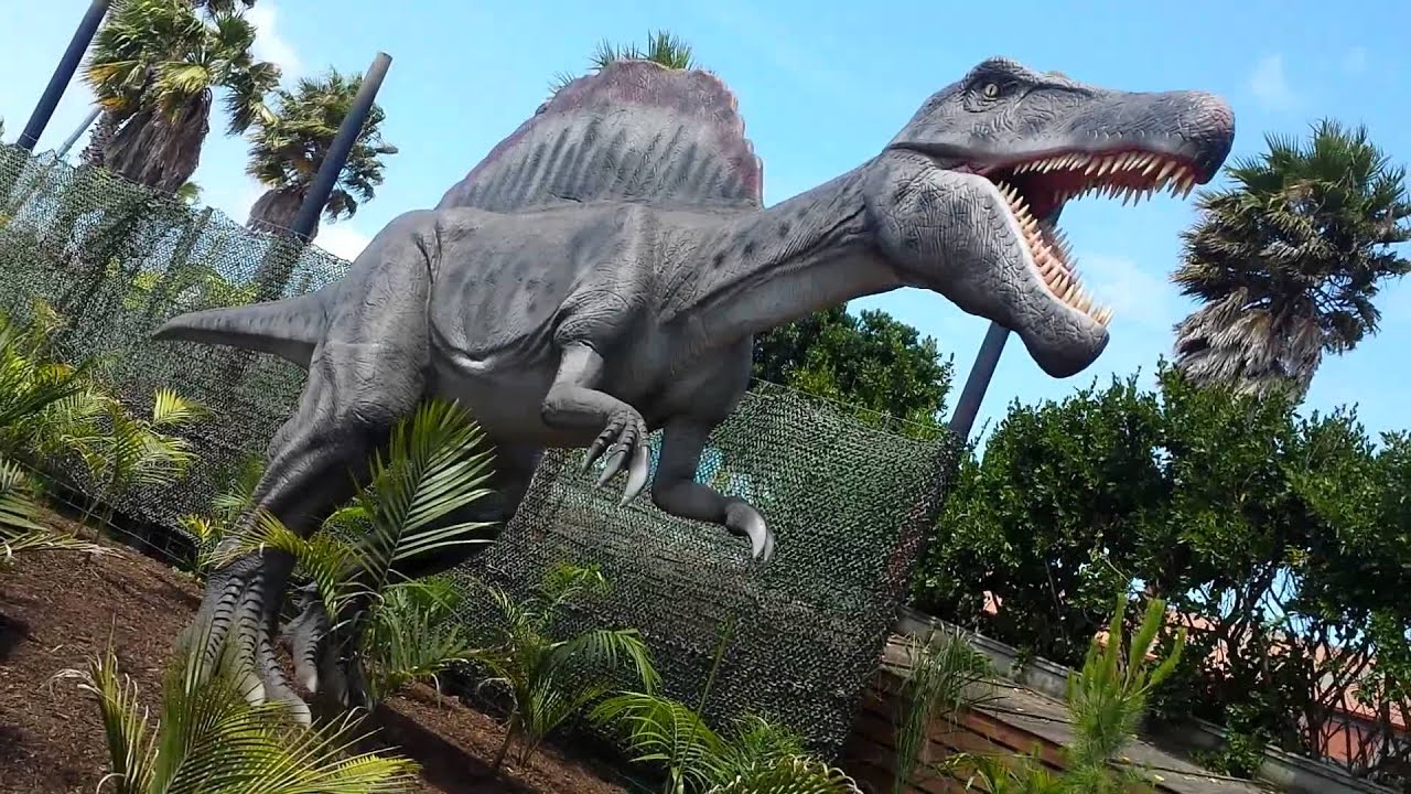 Dinosaur Kingdom Butterfly Creek Auckland PART 1 YouTube