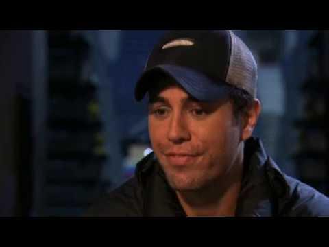 Enrique Iglesias Interview