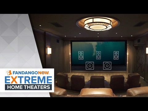 Creating the Perfect Theater!   FandangoNOW Extreme Home Theaters