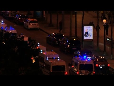 Report: Incident in Paris near Champs Elysées