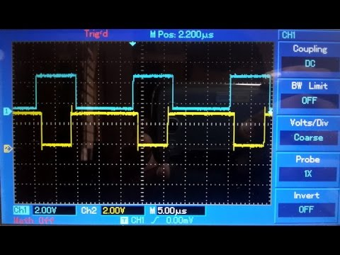STM32 Advance Timer Complementary PWM Mode with Dead Time Generation