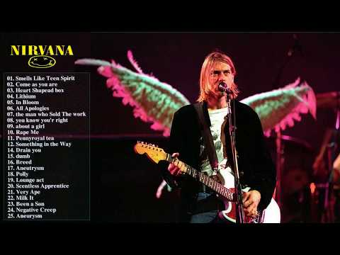 Nirvana Greatest Hits New | Best Of Nirvana All Songs {New Cover}