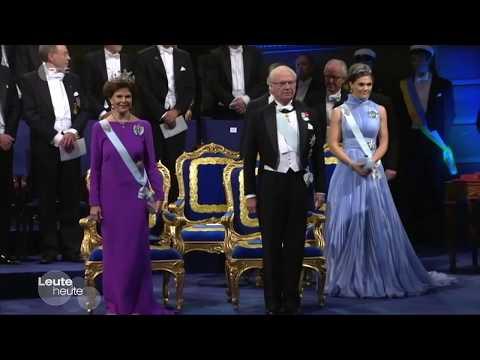 (German Press) The Nobel Prize ceremony in Stockholm.