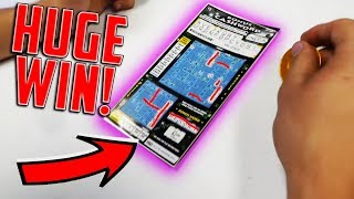 HUGE WINNER ON A $3 CASHWORD TICKET! Michigan Lottery